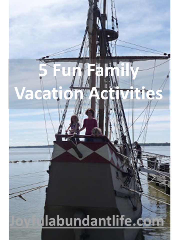 5 Fun Family Vacation Activities
