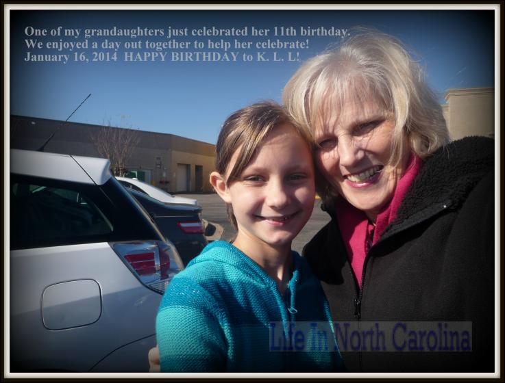Birthday Memories with Grandchildren