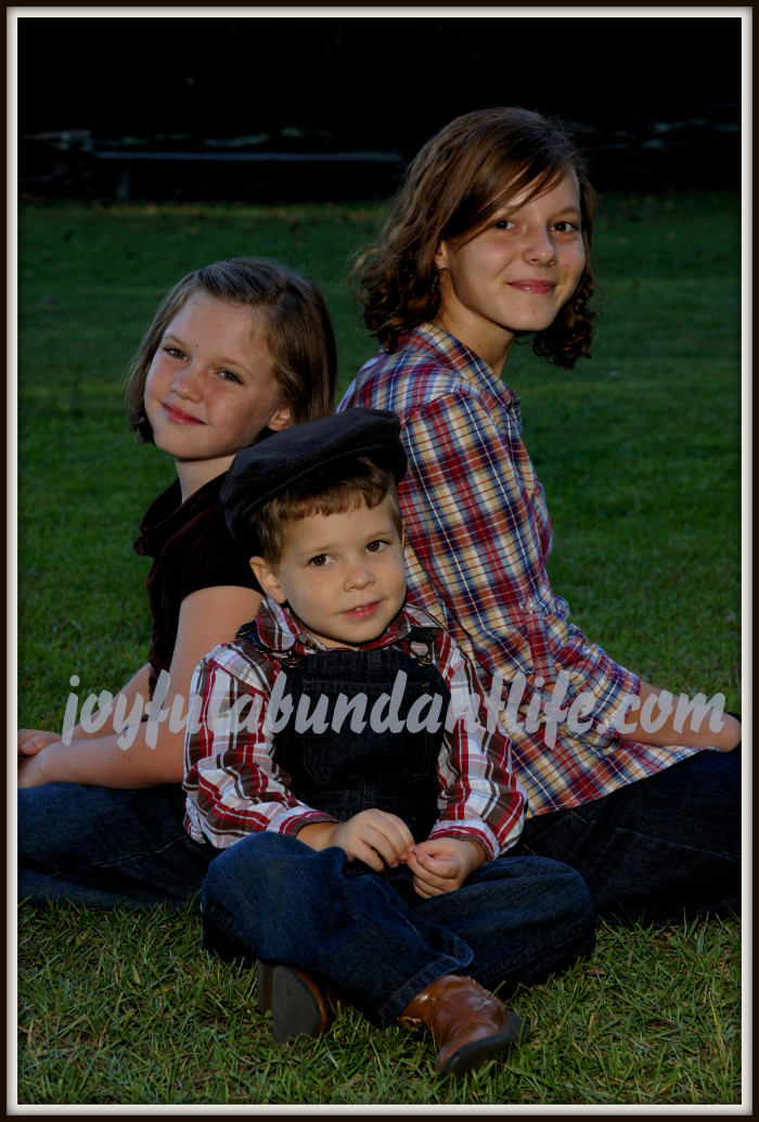 Three of our munchkins