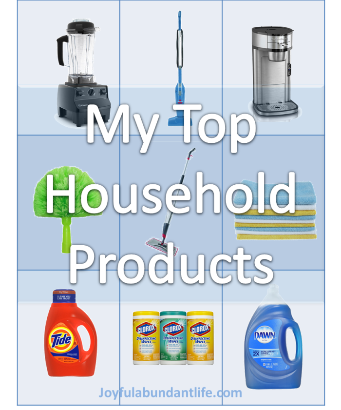 Top Household Items For Grandma and anyone else too.