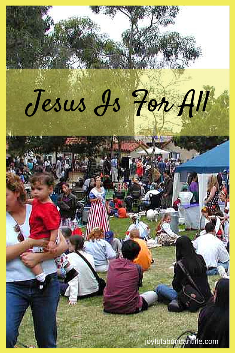 Jesus Is For All
