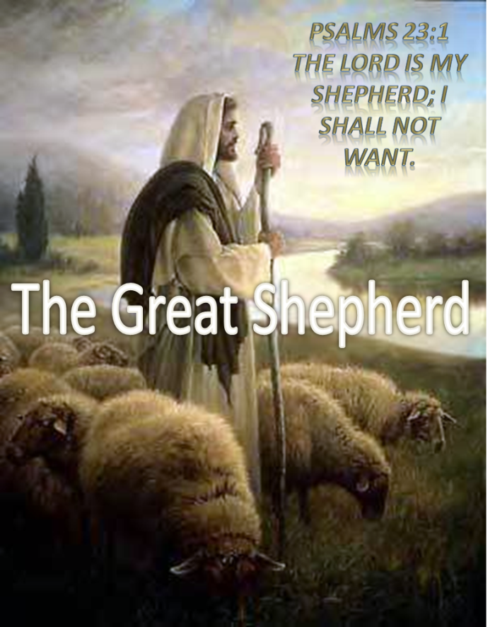 The Great Shepherd - Reflecting on the 23rd Psalm