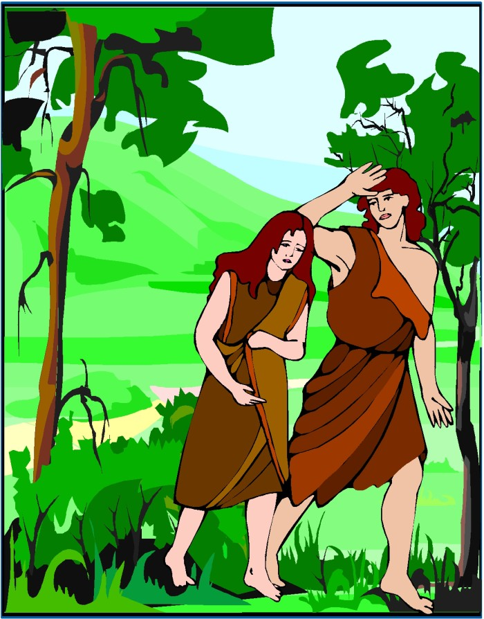 Adam and Eve Leave Garden2