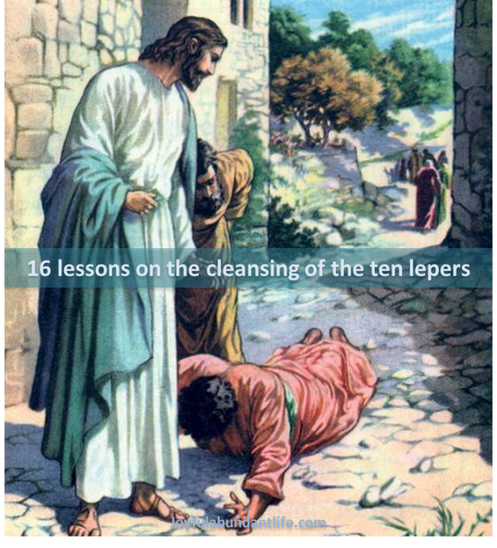 16 lessons on the cleansing of the ten lepers