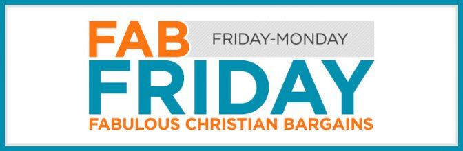 Fab Friday Deals at Christian Book Distributors